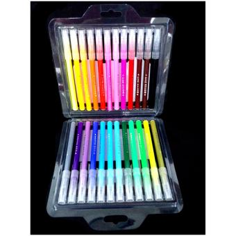 Colored Pen Brush Pen - Assorted Colors 24's