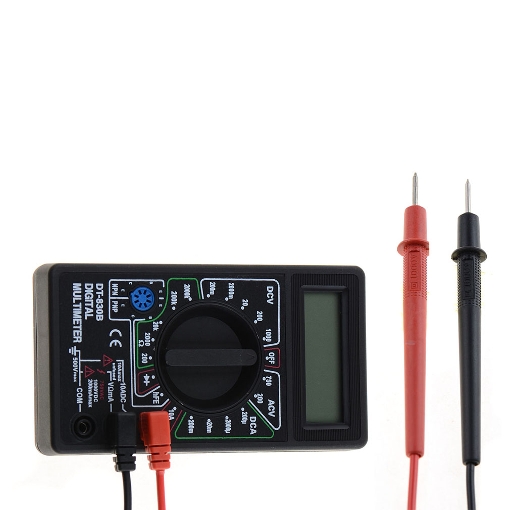 Philippines Comebuy88 Portable Ammeter Voltmeter Handheld Tester A830l Digital Lcd Multimeter Ohm Ac Dc Circuit Volt Ohmmeter