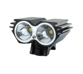 Cree XM-L 2x T6 LED Bike Bicycle HeadLamp Front Head Light