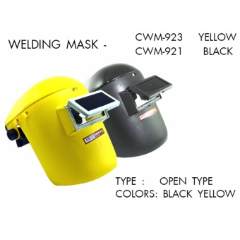 Creston Heavy Duty Welding Mask Open Type (Black)