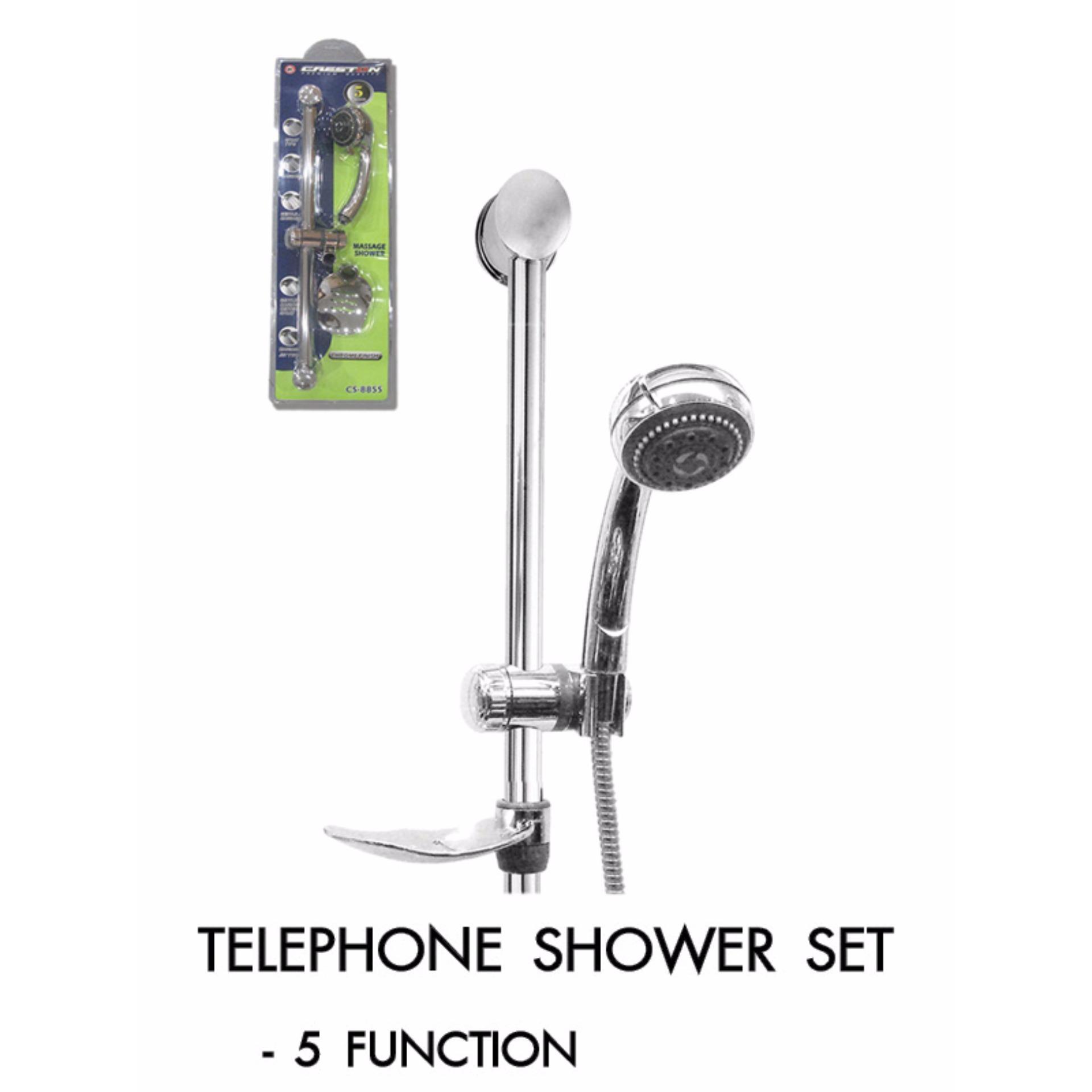 Creston Telephone Shower Set (5 Function) Philippines