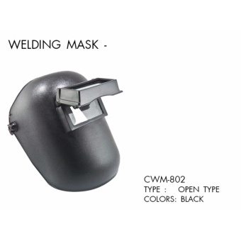 Creston Welding Mask Open Type (Black)
