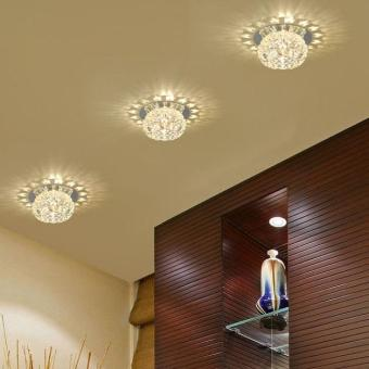 Crystal Pendant Lamp Exhibition Ceiling Chandelier Light