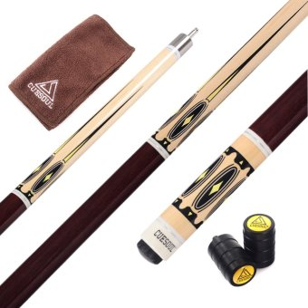 CUESOUL Full Canadian Maple Wood 1/2 Stainless Steel Quick ReleaseJoint Billiard Pool Cue 9 Ball Cue - 2