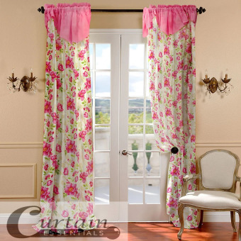 Curtain Essentials Daffodil Pink Set of 2