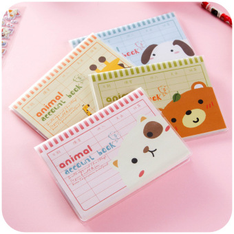 Cute hand small book mini notebook of