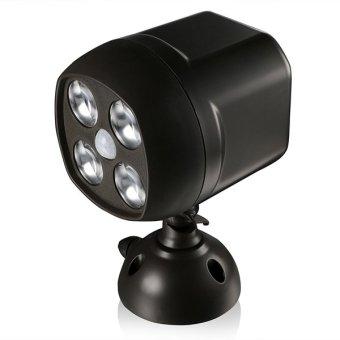 Cyber COOCHEER Weatherproof Wireless Battery Powered LED SpotlightWall Light with PIR Motion Sensor & Light Sensor - 2