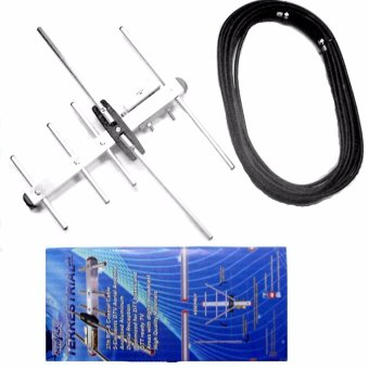 Cybertec Crystal-clear Digital TV Antenna Outdoor Antenna for TVPlus or any ISDBT Digibox