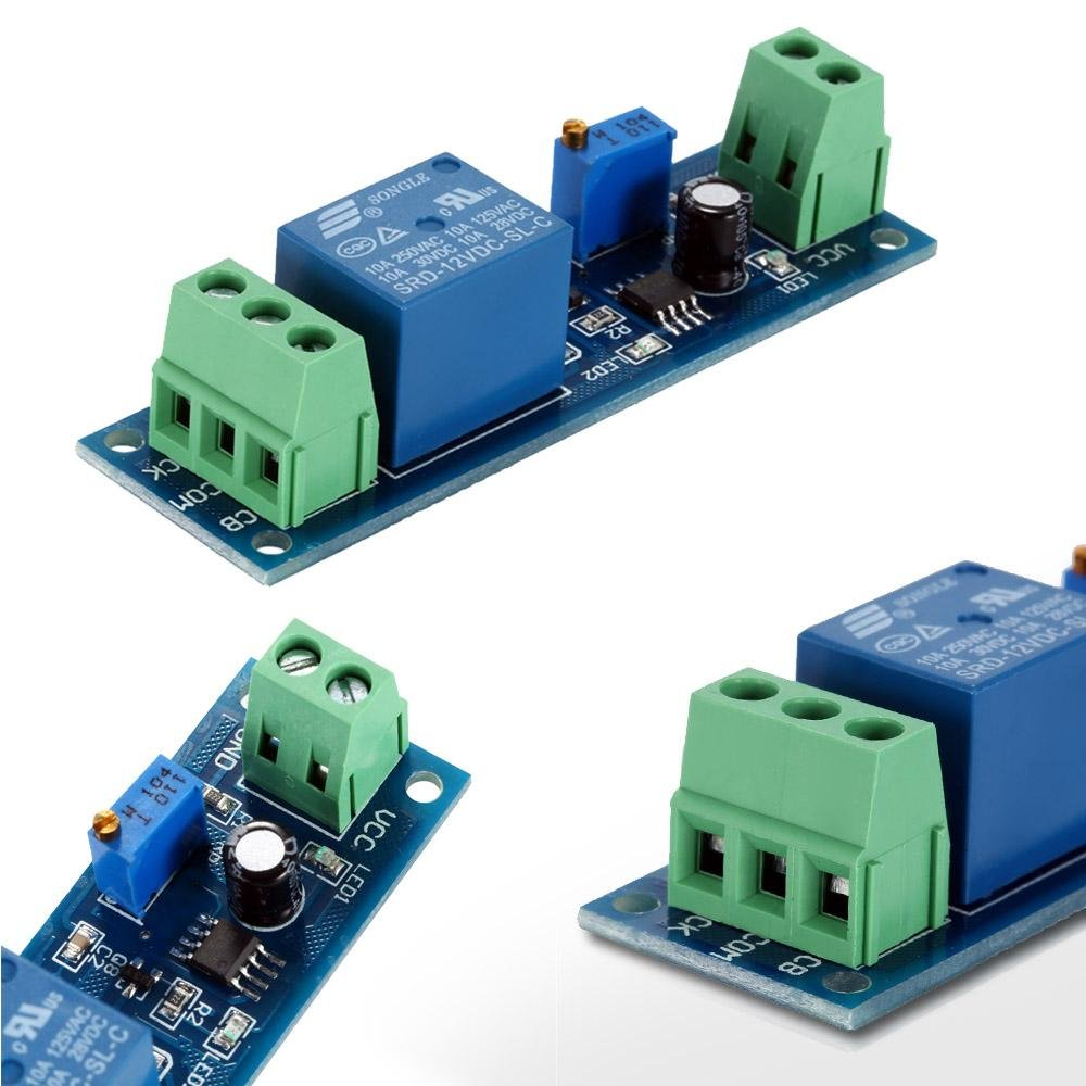 Dc 12v Delay Relay Time Turn On Off Vibration Switch Module Intl Channel Summerfuel Robotics 0 10s Control Cycletimer