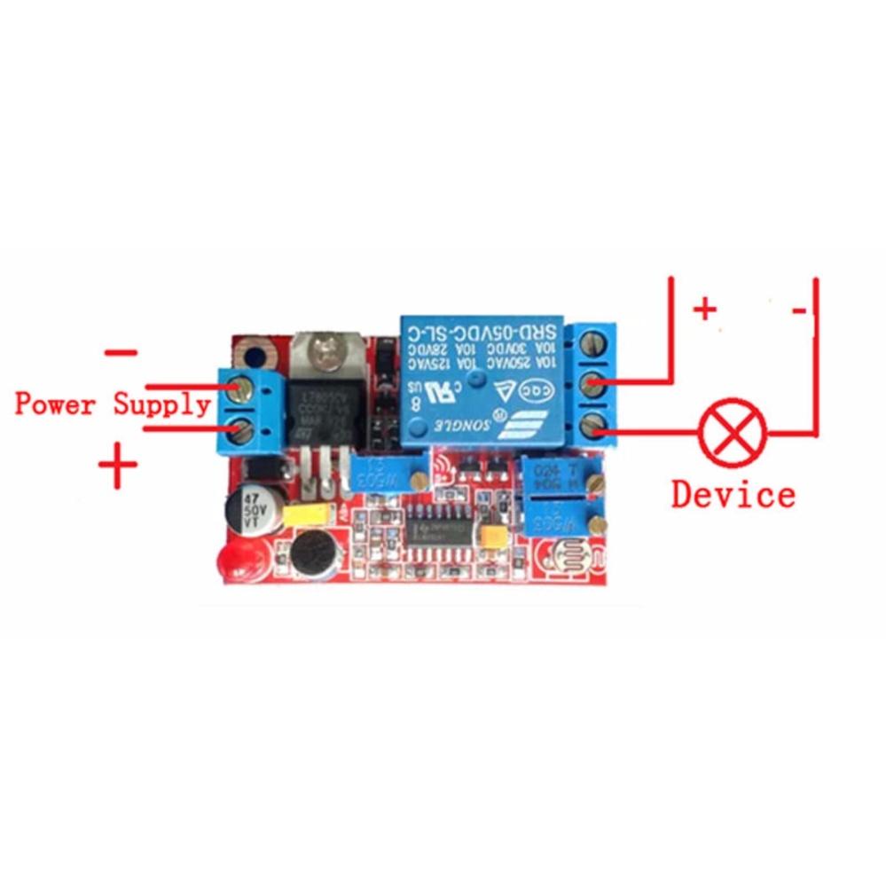 Philippines Dc5v 12v 24v Sound Sensor Light Control Relay Switch Off Delay Time Delayturn Module Intl