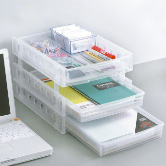 Desktop storage small drawer storage rack