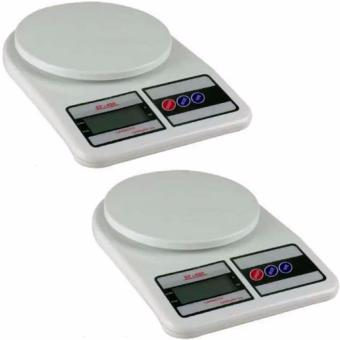 Digital 5KG/1G LCD Electronic Kitchen Weighing Scale Set of 2