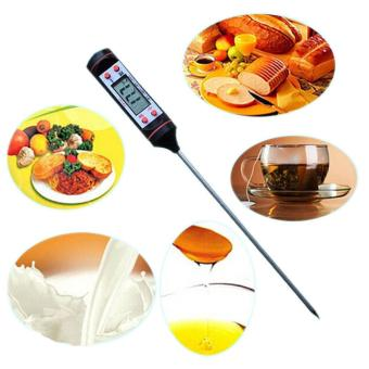 Digital Kitchen Probe Thermometer for Food Cooking BBQ Candy Meat Steak Grill BI011 - intl