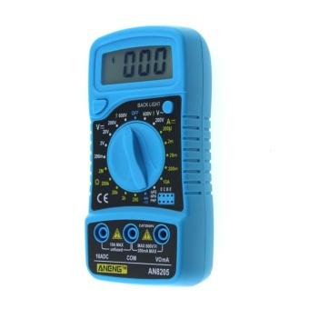 Digital LCD Multimeter Voltmeter Ammeter AC/DC/OHM Volt CurrentTester (Blue) - intl - 4
