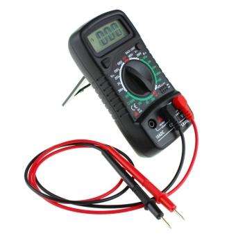 Digital LCD Multimeter Voltmeter Ammeter AC/DC/OHM Volt TesterCurrent Test - intl - 3