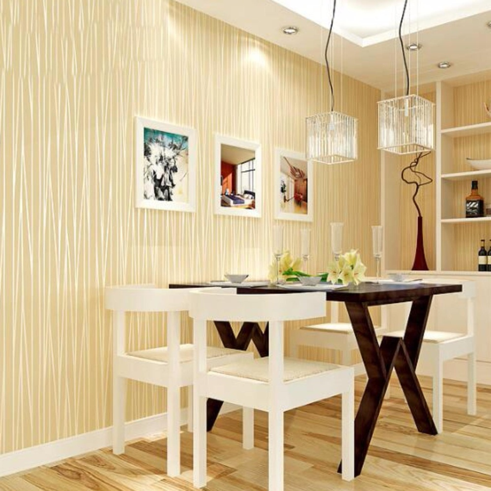 DIY Home Decor Self Adhesive Wall Paper No-woven Moonlight Forest ...