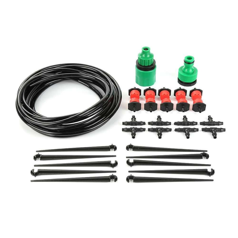 ... DIY Watering System Garden Hose Automatic Timer Plant Water  DripIrrigation Tool   Intl ...