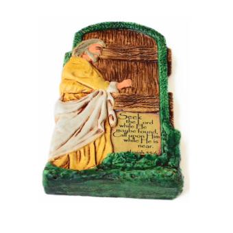 Door Plaque Ceramic Figurine (Antique Color)