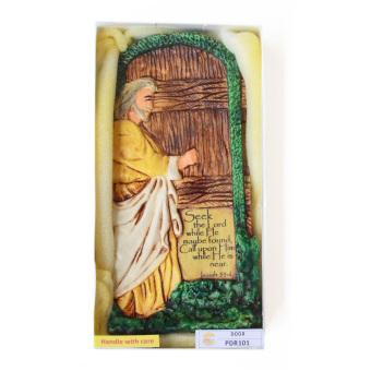 Door Plaque Ceramic Figurine (Antique Color) - picture 2