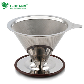 Double Layer stainless steel filter cup filter paper PARK'S pot PARK'S Filter Network