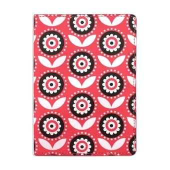 DQ Lola Passport Holder (Carmine Pink)