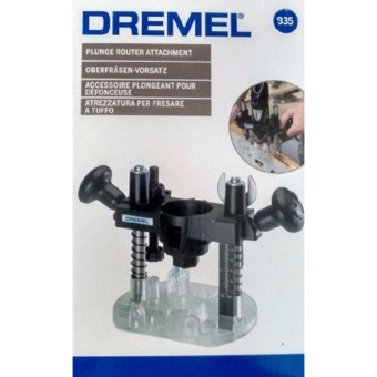 Dremel Model 335 Plunge Router Attachment, Lock & Release
