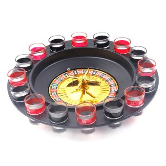 Drinking Roulette with Poly Foam (Black/Red)