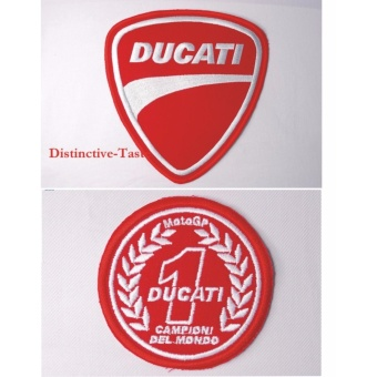 Ducati Embroidered Cloth Patch & Moto GP Patch Set (Get 2) Price Philippines