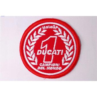 Ducati Embroidered Cloth Patch & Moto GP Patch Set (Get 2) - 3