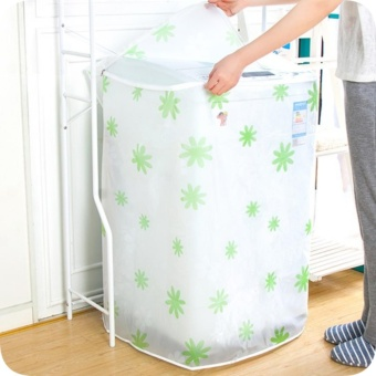 DUOFIRE Single drum washing machine Cover Zippered Front Load Dust Cover, Waterproof Size:55*57*86cm - intl