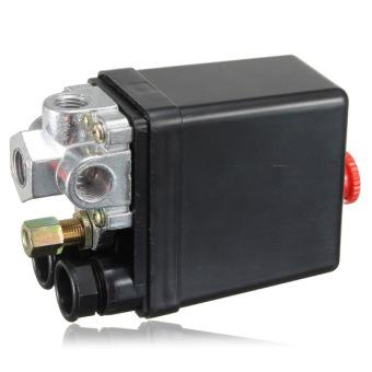 Duty Air Compressor Pressure Switch Control Valve 90-120PSI 12 Bar 4 Port - 3