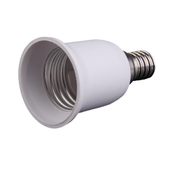 E14 to E27 Halogen Light Base Lamp Bulbs Socket Adapter Converter