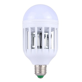E27 12W Fly Pest Insects Reject Zapper Mosquito Killer LED Ball Steep Light Bulb Lamp, AC 175-260V - intl - 2