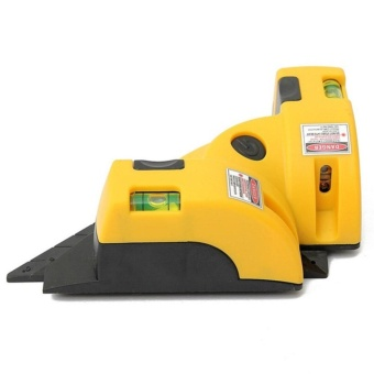 Eachgo Vertical Horizontal Line Laser Level Meter Square Level Right Angle Alignment Measurements Device - intl - 2