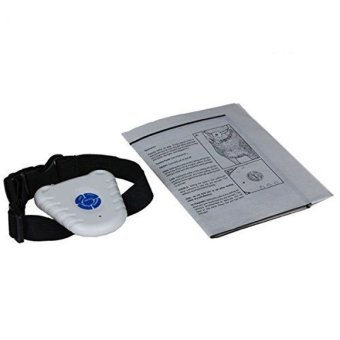 Easybuy Ultrasonic Anti Bark No Barking Pet Big Small Dog TrainingControl Collar (Intl) - 2