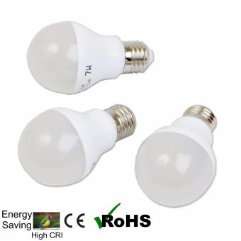 EcoGreen E27 3W LED Bulb Set of 3 (Warm White)