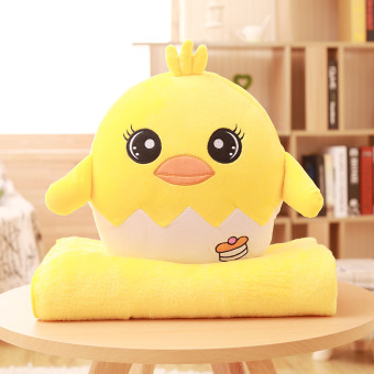 Egg Yolk Egg multifunction pillow