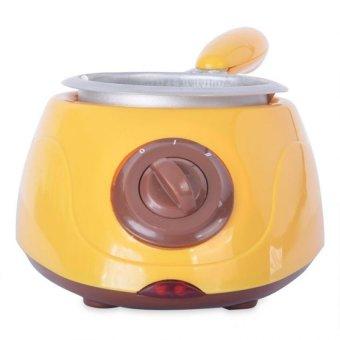 Electric Chocolatiere Chocolate Melting Pot Machine Set (Yellow)
