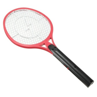 Electric Insect Pest Bug Fly Mosquito Zapper Swatter Killer RacketRechargeable Red - intl