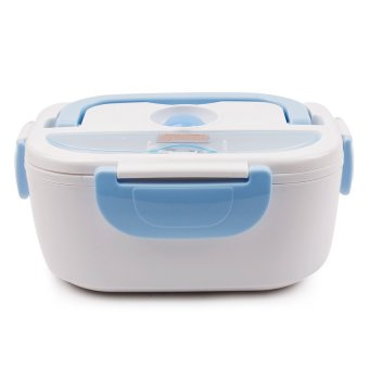 Electronic Lunch Box (White/Blue)