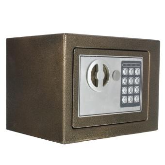 Electronic Safe Box Digital Security Keypad Lock Office Home Hotel US Browm - intl - 3