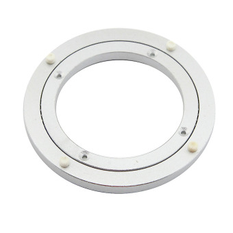 eMylo Diameter 120mm Aluminum Lazy Susan Turntable Bearings forDining-table - 2