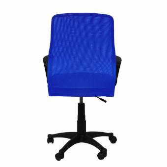 Ergodynamic EMC-124BLU Mesh Office Chair Furniture (Blue) - 4