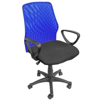 Ergodynamic EMC-124BLU Mesh Office Chair Furniture (Blue) - 2