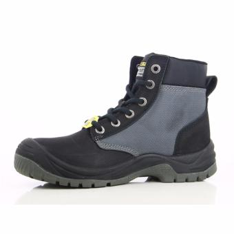 [EU SIZE 43] Safety Jogger Dakar Steel Toe Cap and Steel Midsole Safety Shoes (Black) - 2