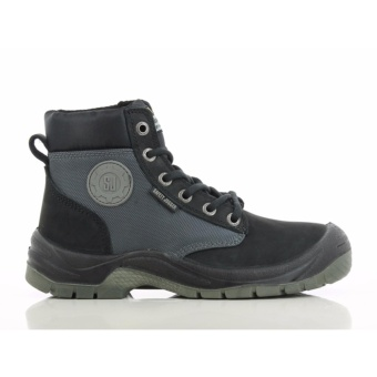 [EU SIZE 43] Safety Jogger Dakar Steel Toe Cap and Steel Midsole Safety Shoes (Black)