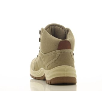 [EU SIZE 44] Safety Jogger Desert Steel Toe Cap and Steel Midsole Safety Shoes (Khaki) - 5