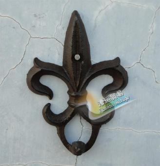 European and American cast iron wall hanging wrought iron adhesive hook