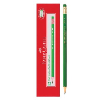 Faber-Castell No. 3 Green Pencils 12pcs/box (3 boxes) Price Philippines