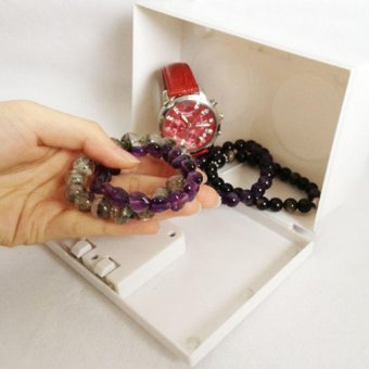 Fake Secret Wall Plug Socket Security Safe Money Jewel Box HidesValuables - intl - 4